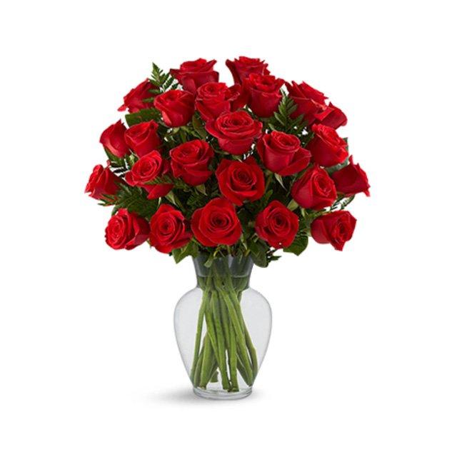 3 Dozen Red Roses Red Roses Arrangement Petal Box